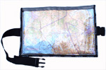 Blue Sky Blue A4 Map Pocket - Kneeboard