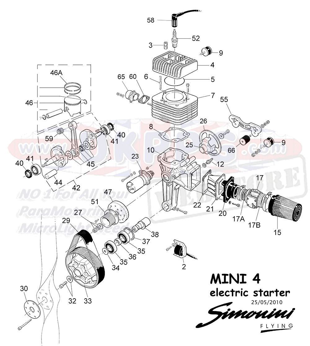 54D EXPANSION CHAMBER FOR EXHAUST SYSTEM