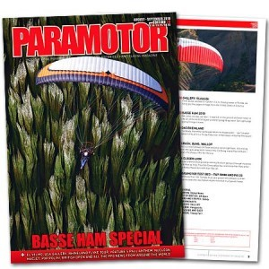 Paramotor Magazine, Issue No 20, August - Sept 2010