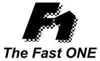 apco F1 logo the fast one